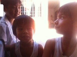 子ども達と英会話