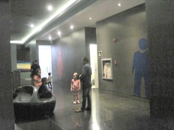 SMモール内映画館のトイレ