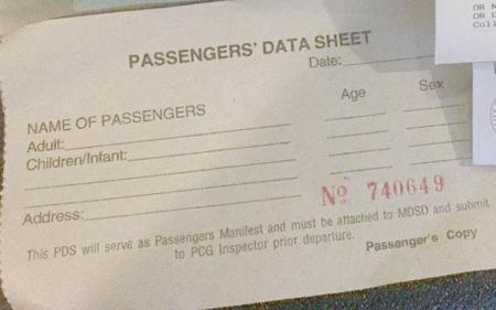 カティクラン港パッセンジャーズ。データ・シート