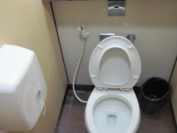 マニラ空港のトイレ