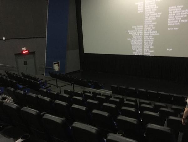SMモール映画館内の雰囲気