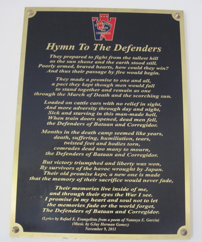 Hymn To  The Defenders