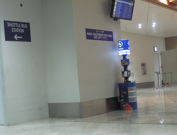 ニノイアキノ空港Charging-Station
