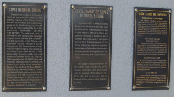 カパス・ナショナル・シュライン(Capas National Shrine)