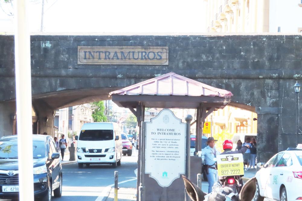 フィリピン留学APSE-マニラ観光-Welcome-to-Intramuros