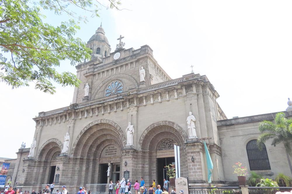 フィリピン留学APSE-マニラ観光-MANILA-CATHEDRAL_マニラ大聖堂