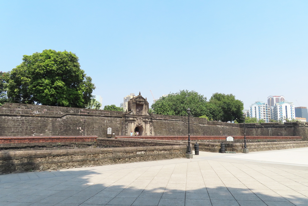 フィリピン留学APSE-サンチャゴ要塞/Fort Santiago